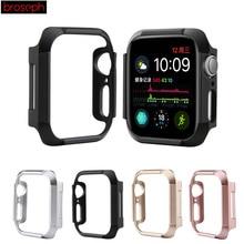 Защитная рамка корпуса для iWatch 4 44 мм 40 мм ПК Чехлы для часов для Apple watch Series 4 Обложка Аксессуары для часов