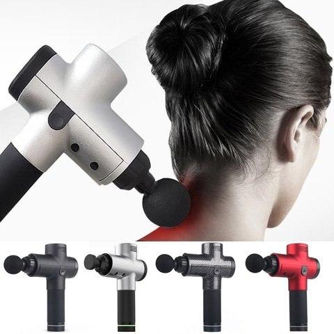 massagem arma haste de fitness profunda vibracao 3 arquivos 4 cabeca 24 v