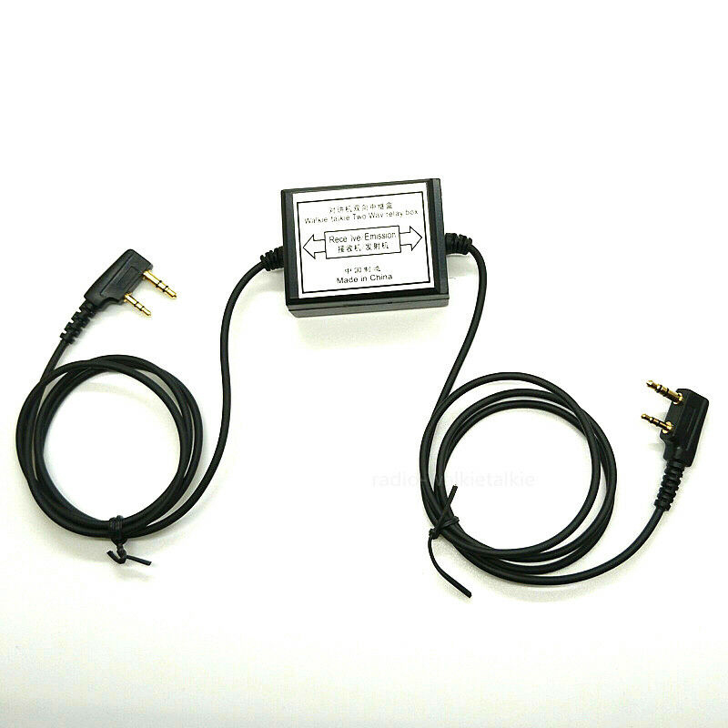 Two-Way Relay Walkie Talkie Repeater Box M Head Baofeng UV-5R Retevis H777 Radio