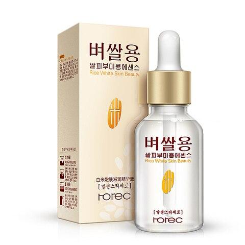 ROREC Pure Rice Face Serum Whitening Serum For Facial  Moisturizing Acne Treatment Anti Aging Liquid Skin Care Face Serum Cream Lahore