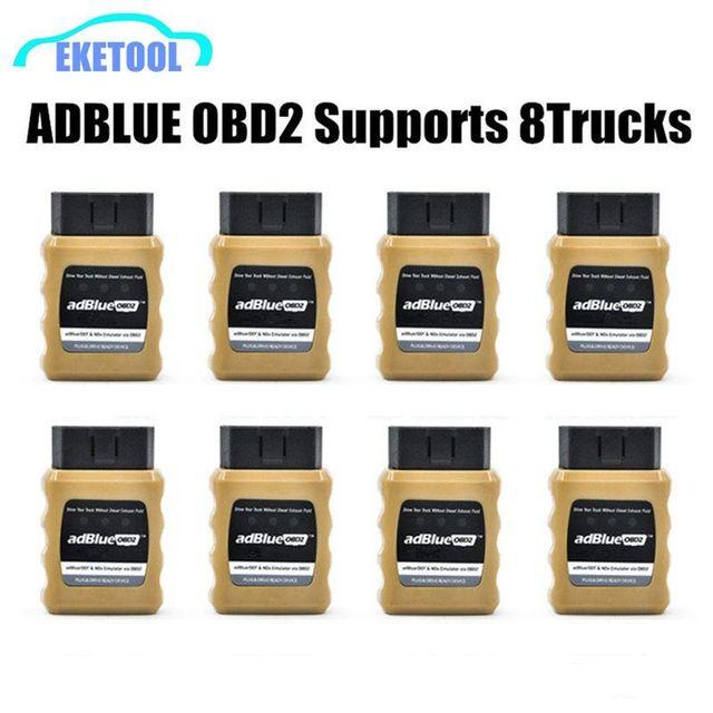 Emulatore AdBlue emulazione NOX AdblueOBD2 dispositivo pronto per Plug & Drive di camion OBD2 Adblue OBD2 per Iveco/SCANIA/DAF