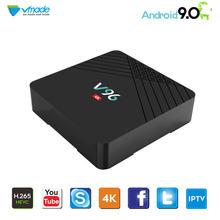 ТВ приставка на android 90 2 + 16 ГБ hd 4k h265 allwinner h6