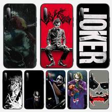 Black Joker Phone Case For Samsung S note S10E 6 7 8 9 10 20 plus edge lite Cover Fundas Coque