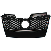 Front Center Grille Main Upper Hex Mesh Grilles Car styling For VW for Jetta GTI GLI 2006 2007 2008 2009