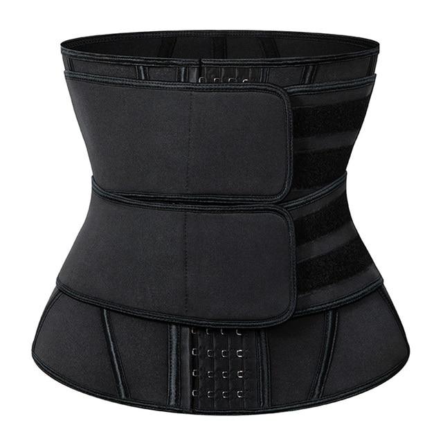 Men Slimming Body Shaper Sweat Belt Modeling Strap Waist Cincher For Women Men Waist Trainer Belly Belt Shaperwear Tummy Corset