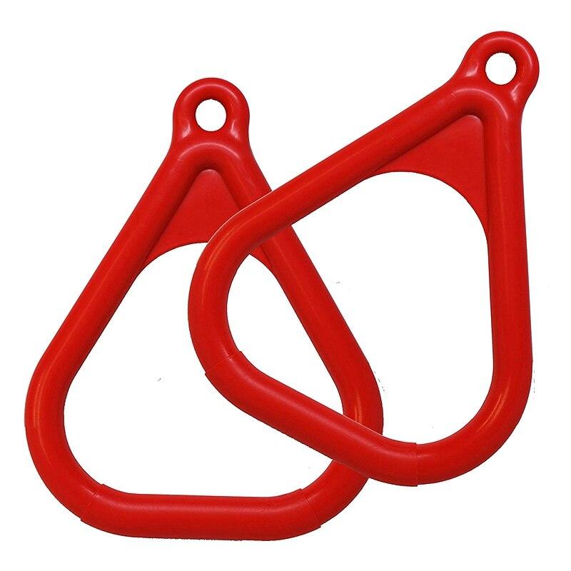 Trapeze Ring Swing Set Play Set Playground Trapeze Bar Jungle Gym Monkey Bar Ring Large Trapezoidal Ring