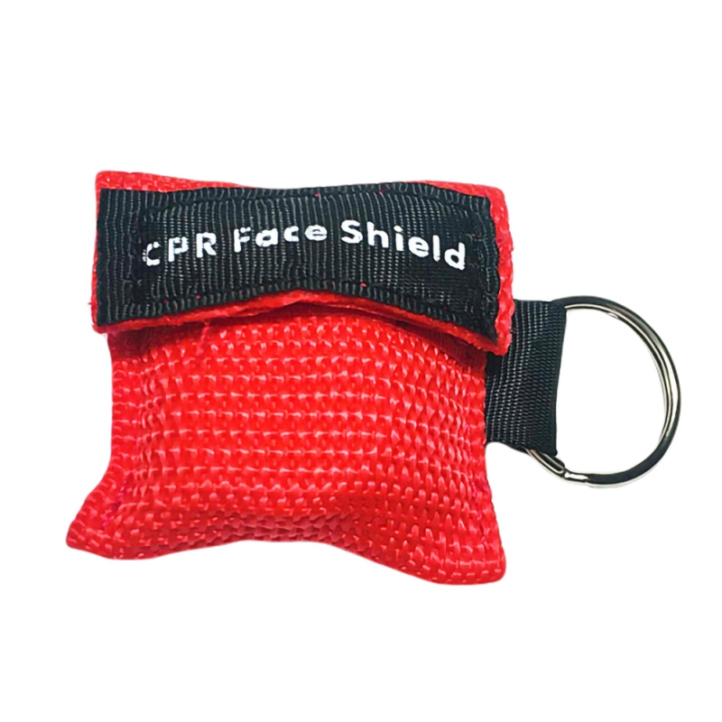 Disposable Resuscitation Mask First Aid Kit With Key Ring First Aid Skill Training Mask Breathing Mask Hot Sale
