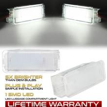 Luz LED para maletero de coche, guantera, lámparas interiores de puerta de pie para Citroen C4, C3, DS3, Xsara 2, Picasso, Saxo, C2, C5, C6, C8, Dispatch 3