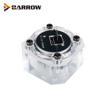 "Barrow G1/4"" Water Cooling System Electronic Flow Sensor Indicator Access Motherboard To Read Data Flower ,SLF V3"