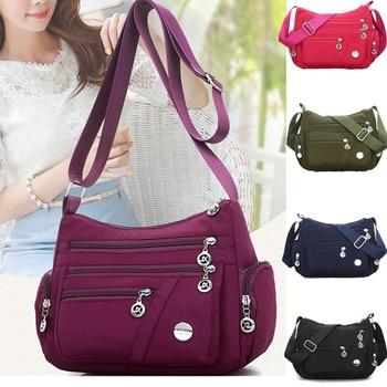 New Casual Crossbody Shoulder Bag Women Bag Nylon Waterproof Messenger Bags For Lady Handbags High Quality Multifunctional 1