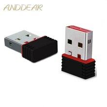 150 Мбит/с MTK7601 usb WiFi прямой адаптер USB 2,0 высокой мощности мини-usb Wi-Fi ключ