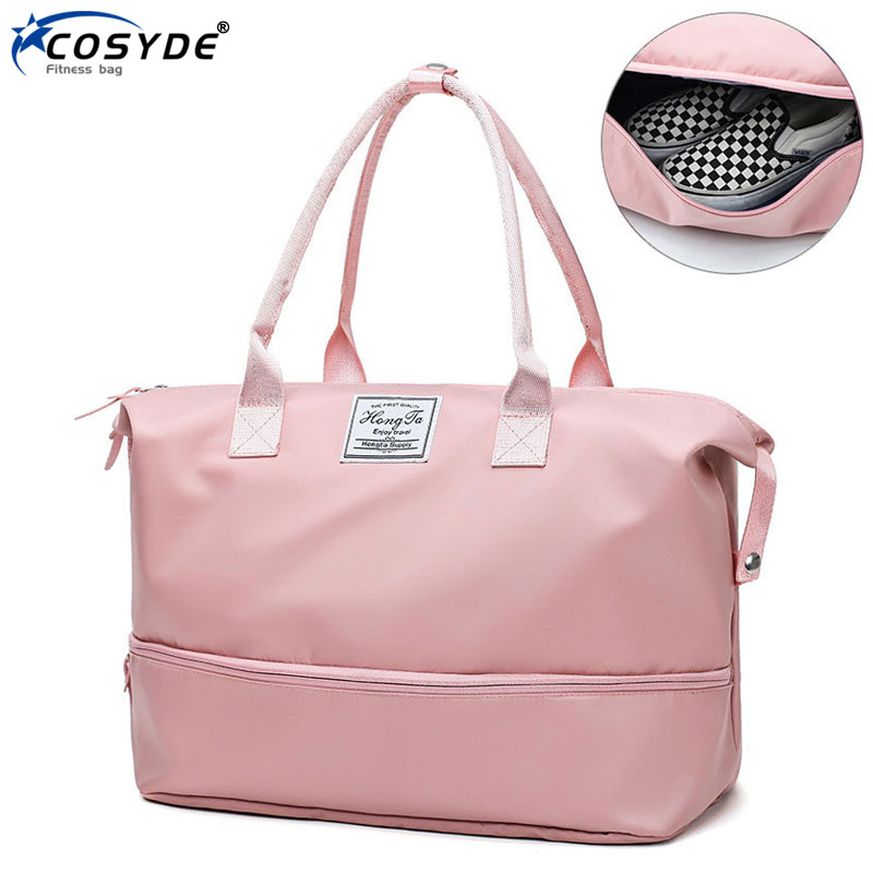 Waterproof Gym Bag Wet Dry Women Hand Luggage Bag Training Handbags Traveling Sac De Sporttas Nylon Men Sports Bag With Shoes