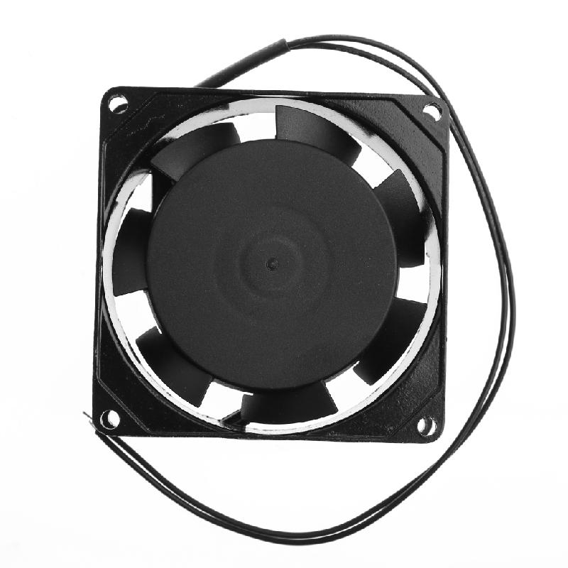 Drop Ship&Wholesale SF8025AT 2082HSL 8025 80mm Sleeve Bearing 220-240V AC 2-Wire Case Cooling Fan Sep. 5