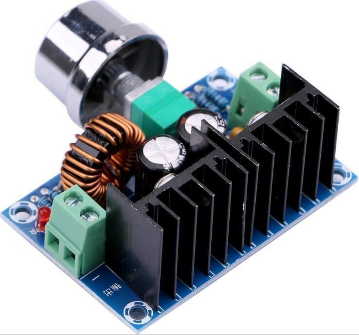 Max 8A 200W DC DC Step Down Buck Converter Power Supply XL4016 PWM Adjustable 4 40V To 1.25 36V Step Down Board XH M401 004|Integrated Circuits| - AliExpress