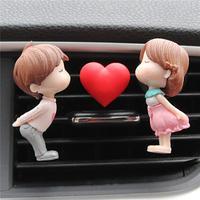 Lovely Couple Girl Boy Car  3