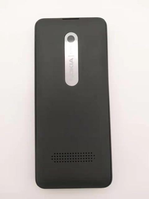 301 originale Per Nokia 301 Sbloccato WCDMA 2.4 ''Un SIM CARD 3.2MP Del Telefono Mobile del telefono Ricondizionato