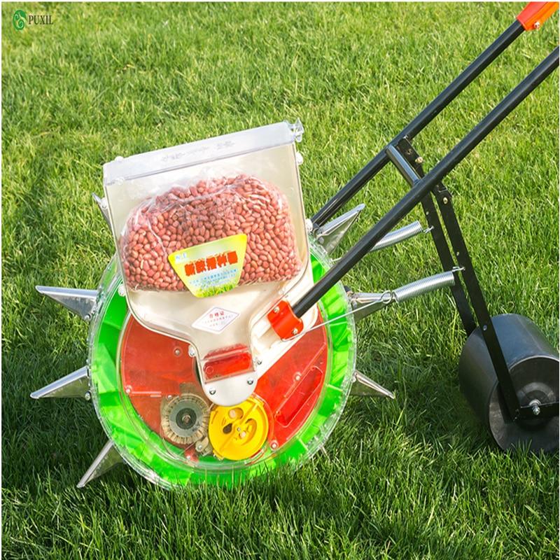 2019 New Multifunctional Hand Push Corn Cotton Soybean Peanut Precision Seeder Wheat Seeder