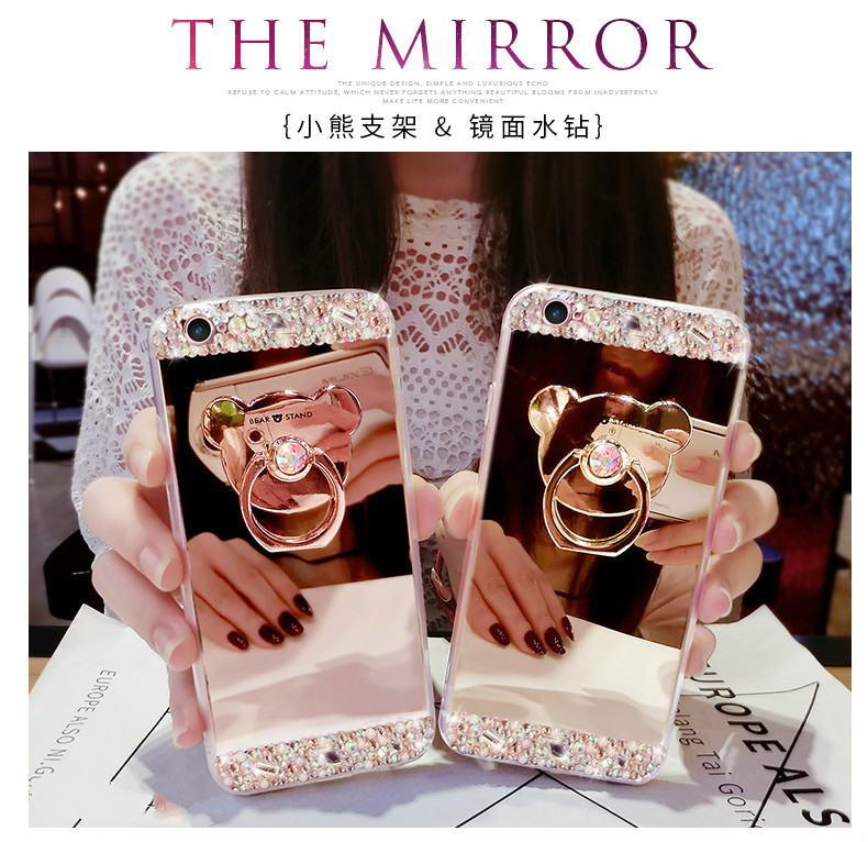 Hfd636088903c4574af7d4b0ac7583babj Crystal Phone Case For iPhone 11 Pro Max Diamond Luxury Cover For iPhone 7 8 6 6s Plus Rhinestone Mirror For iPhone XS XR Xs Max