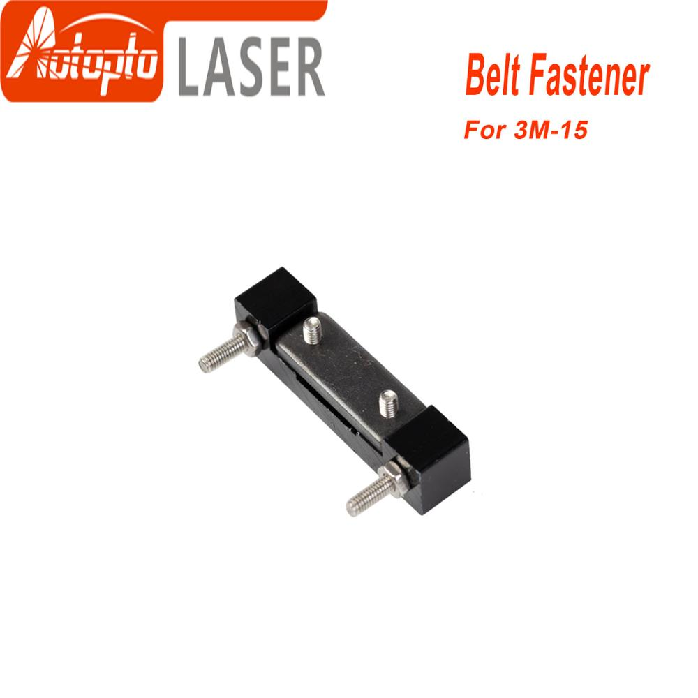 Belt Fastener For Width 15mm Open-Ended Timing Belt Transmission For X/Y Axis Hardware Tools Machine Parts