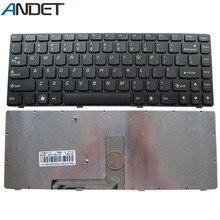 Новая черная клавиатура для Lenovo Ideapad Y480, Y485, Y480A, Y480M, Y480N, Y480P