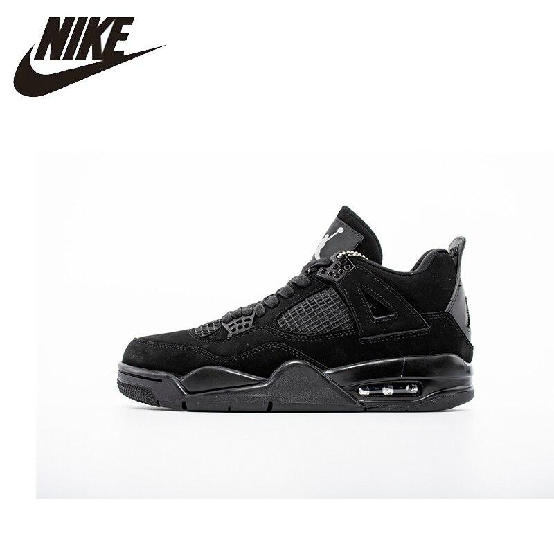 Nike Air Jordan 4 AJ4 Nike hombre zapatillas de baloncesto exterior antideslizantes absorbentes de golpes zapatillas originales-308497