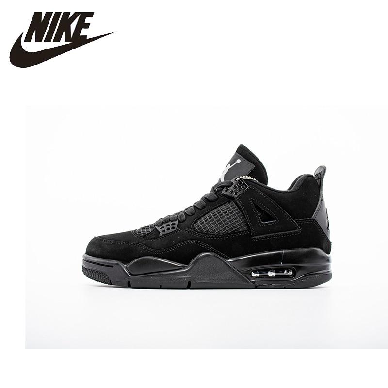 Nike Air Jordan 4 AJ4 Nike homme chaussures de basket extérieur amortisseur antidérapant baskets originales-308497