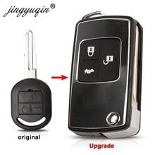 Modifiye çevirme katlanır uzaktan anahtar kabuk Buick 2003 2007 Excelle HRV fit Chevrolet lachetti araba anahtarı boşlukları durumda fob