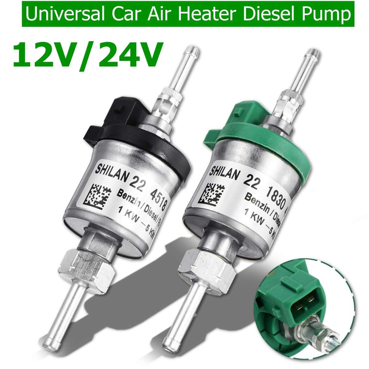 Universal Gas Diesel Fuel Pump,Parking Heater Pump for Webasto Ws Electric Fuel Pump,Heater Oil Fuel Pump for Air Parking Heater 2000W 5000W 12V//24V Heater Pump