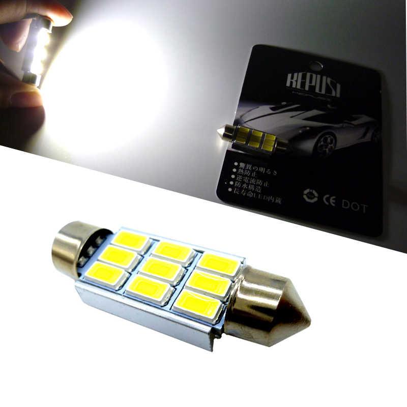 Feston 31mm 36mm 39mm 41mm C5W CANBUS aucune erreur Auto lumière 5630 LED voiture intérieur dôme lampe lecture ampoule blanc DC12V