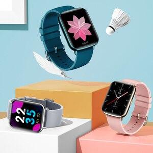 Image 2 - Smartwatch l1 2021, à prova dágua, monitoramento de frequência cardíaca, lembrete de chamada/mensagem, fitness, esporte, bluetooth, para android, ios