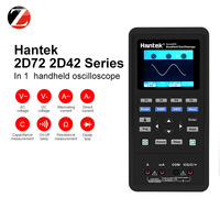 Hantek handheld osciloscópio digital portátil 2d72 2d42 2c423 em 1 250msa/s gerador de forma de onda multímetro 2 canal|Osciloscópios| |  -