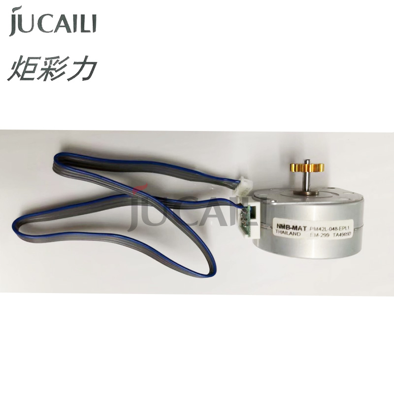 Jucaili 1pc inkjet printer Mutoh ink pump assembly motor for Epson <font><b>7880</b></font> 7800 9880 Mutoh VJ1604 1638 RJ900 engine image