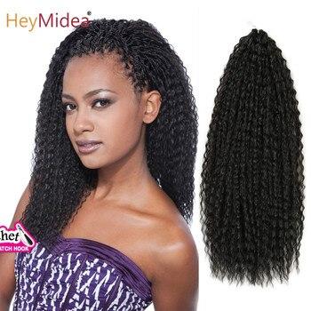 20-28 cali Afro Yaki perwersyjne kręcone szydełkowe włosy plecione rozszerzenia Marley włosy syntetyczne włosy plecione włosy dla czarnych kobiet złoto uroda
