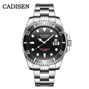Image 3 - CADISEN 2020 New Mens Menchanical Watches Fashion Automatic Mens watches top Brand Luxury Military Watch Menrelogio masculino