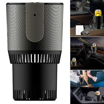 Refrigerador De Coche Eléctrico | Copa De Coche Enfriador De Café Eléctrico Calentador De Bebidas Taza De Refrigeración Para Viaje De Carretera VS998
