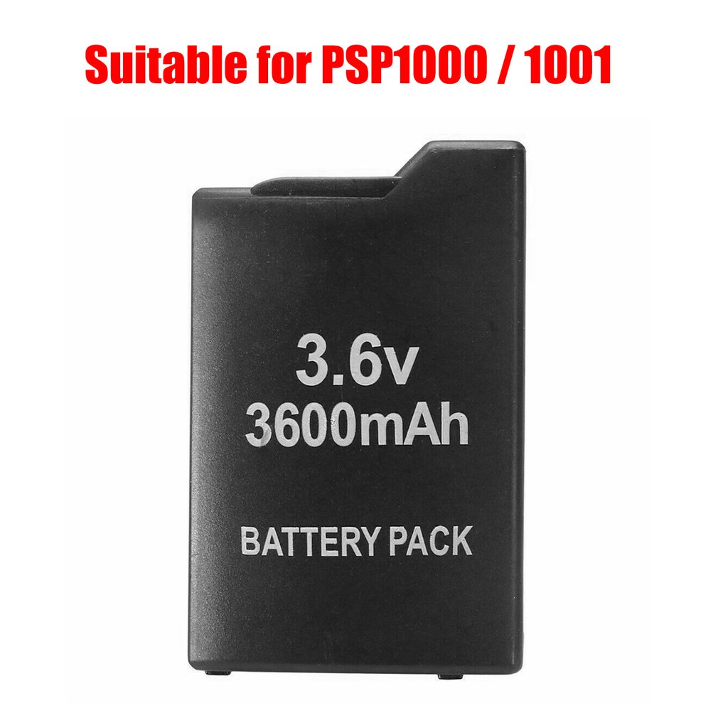 3.6V 3600mAh Replacement Rechargeable Battery Pack for Sony PSP PSP1000/1001 Rechargeable Battery Pack Batteries     - title=