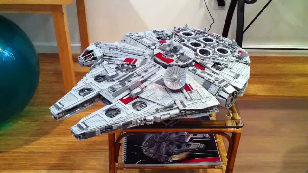 Millennium Falcon Lepin 8445pcs Compatible 75192 Star wars Series Ultimate Collectors Model Building Bricks Toys 25