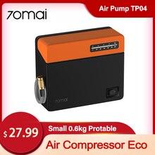 70mai Air Pump Eco 70mai Eco Car Air Pump Small Size Easy Carry Quick Charge 70MAI Eco for Cars Bicyle Balls Air Inflatot