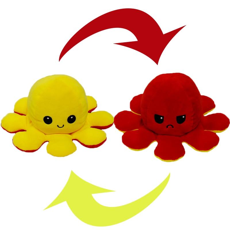 Reversible Octopus Stuffed Toy35