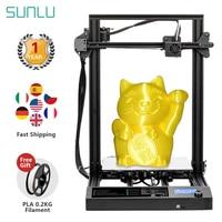 SUNLU S8 FDM 3D Printer Larger Printing Size PLA ABS PETG 3d Filament Extruder Resume Power Failure Printing Desktop 3D Printer