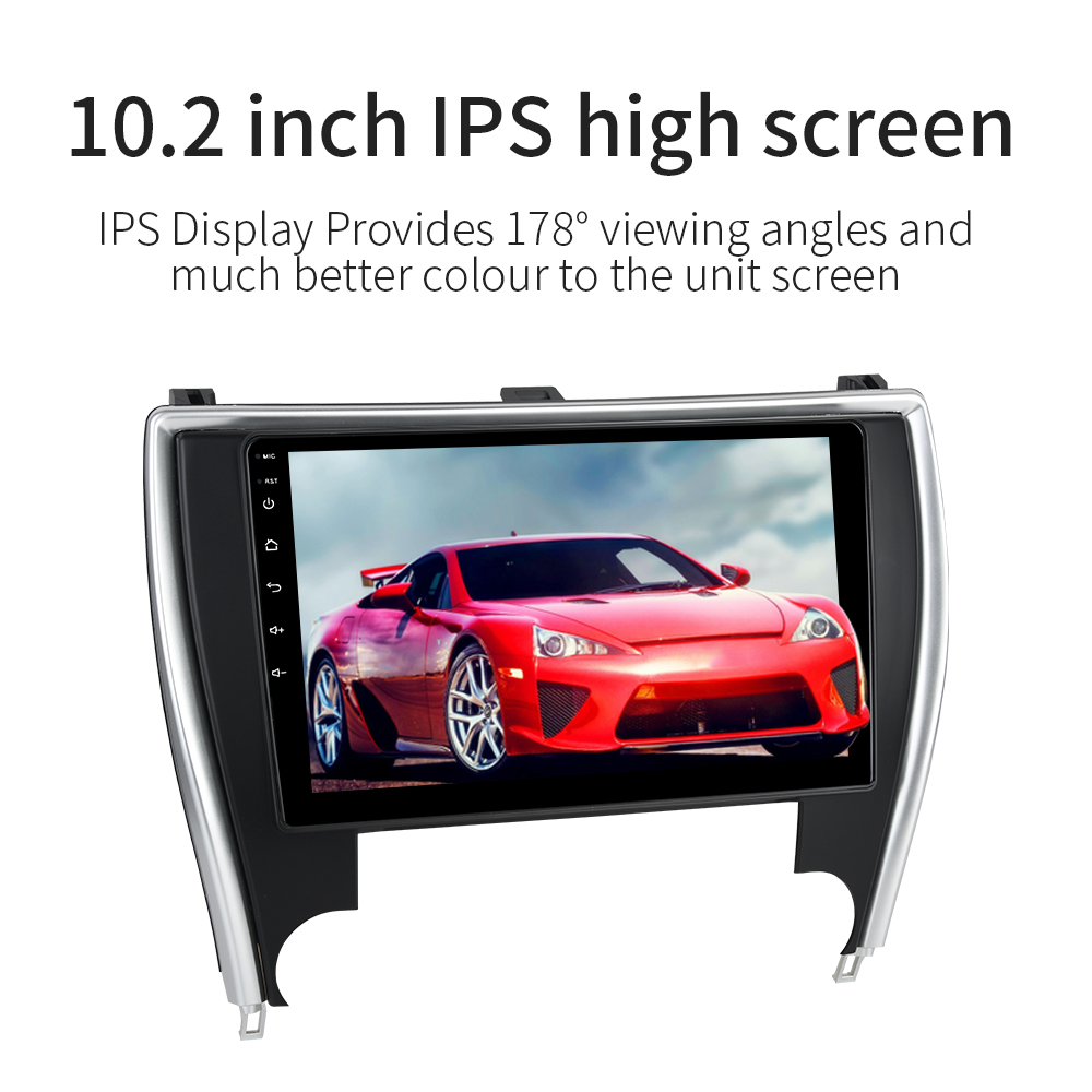 Dasaita Android 9.0 Car Multimedia Stereo for Toyota Camry US Version 2015 2016 2017 with 10.2
