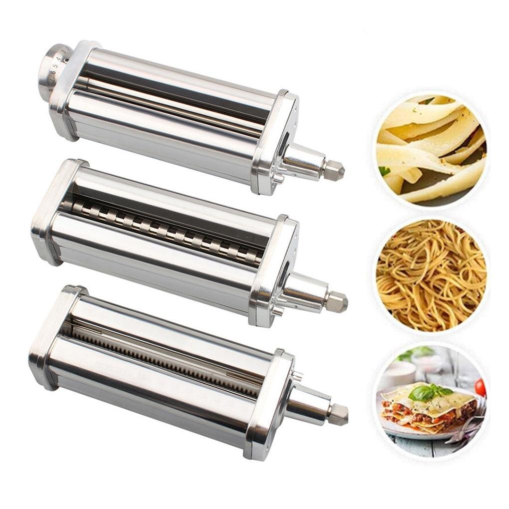 KitchenAid Pasta Roller Cutter Set for KitchenAid Stand Mixers Pasta Sheet Roller Spaghetti Cutter Fettuccine Cutter