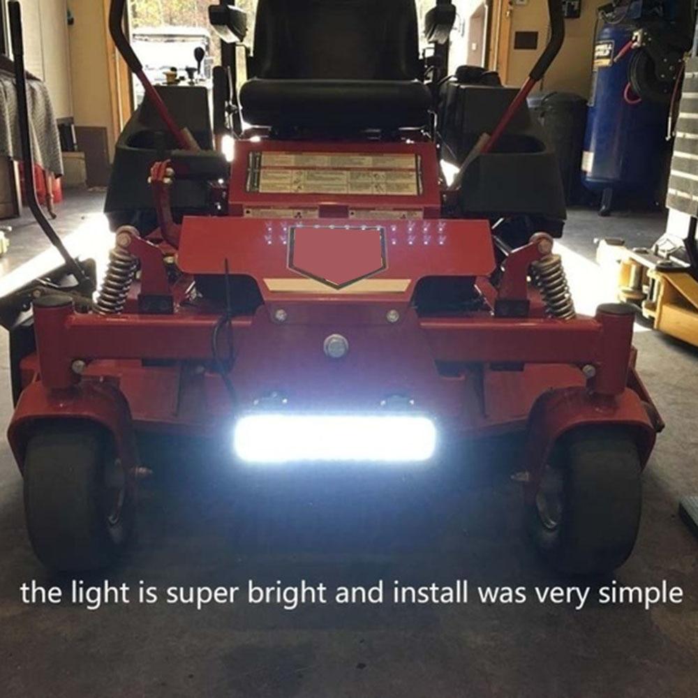 """Le Jeune moderne.Auto & moto-Rampe led voiture 60w 120w 180w-Bar de LED pour véhicule tout terrain ou pour éclairage d'appoint de garage, terrasse. Existe en 3 puissances/tailles. 7"""", 13"""" ou 19 poucescorrespondant à un éclairage de60w, 120wou180w sous 12v."""