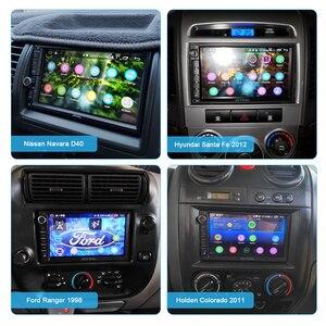 Image 5 - 7 인치 자동차 라디오 2din 안 드 로이드 10 유니버설 헤드 유닛 화면 멀티미디어 네비게이터 4 기가 바이트 + 64 기가 바이트 Autoradio 블루투스 4G Carplay