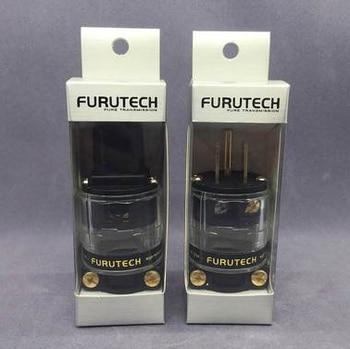 FURUTECH FI-11M (Cu) / FI-11 Cu Audio Power Plug 24K Gold plated IEC Connector plug  15A/125V Hifi MATIHUR hi