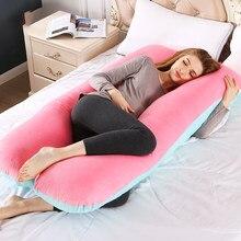 Gravidez maternidade coxim lado sleeper grávida cama em casa macio algodão multifuncional profundo dormir almofadas de massagem