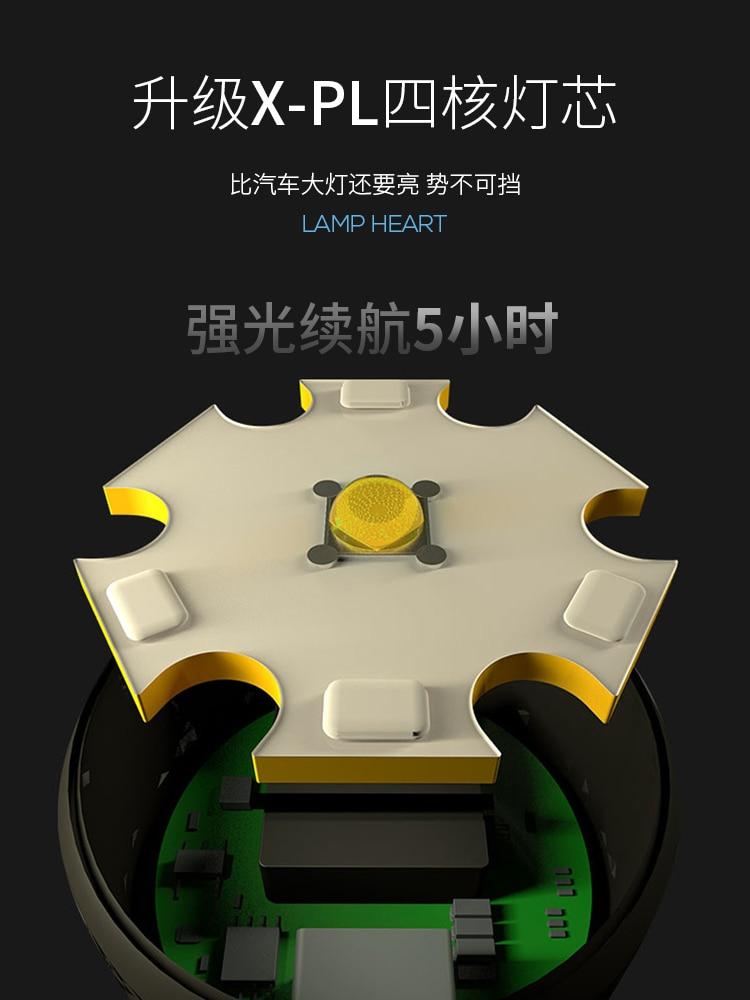 poderosa lanterna mini latarka led equipamentos ao ar livre bi50fl 02