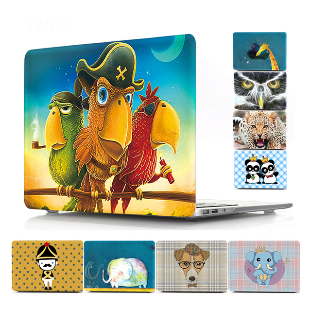 Raffiti Animal Pattern Case for MacBook