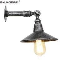 Loft Decor Eisen Wasser Rohr Licht FÜHRTE Leuchte Einstellen Vintage Edison Wand Leuchten Schlafzimmer Nacht Wand Lampe Hause Beleuchtung|LED-Innenwandleuchten|   -