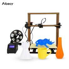 Aibecy CR-10 s4 de alta precisão auto-montar diy i3 impressora 3d fácil de montar filamento de detecção de impressão de currículo